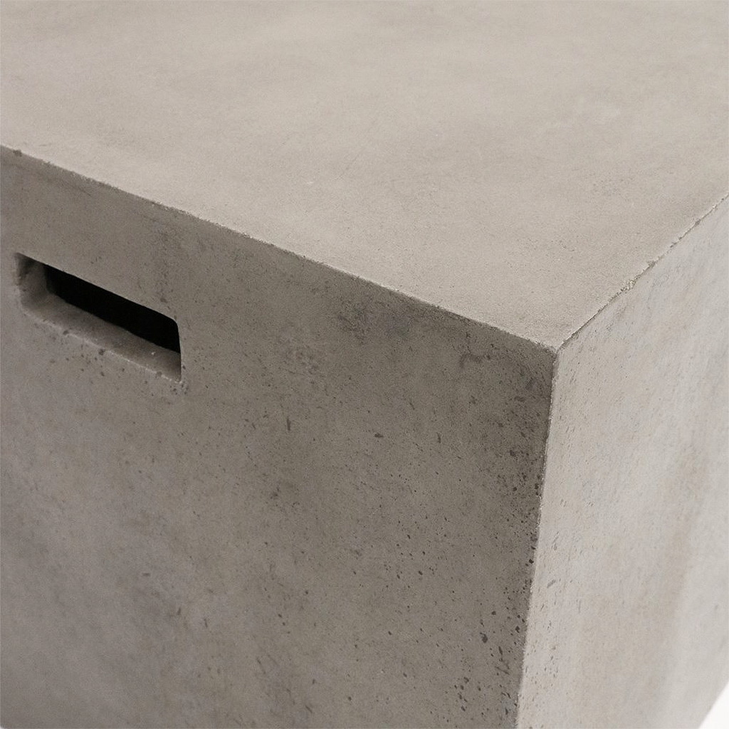 SOUK COLLECTIVE | Concrete Cube Side Table / Stool