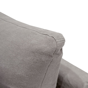 SOUK COLLECTIVE | Willow Slipcover Sofa - Coastal Grey