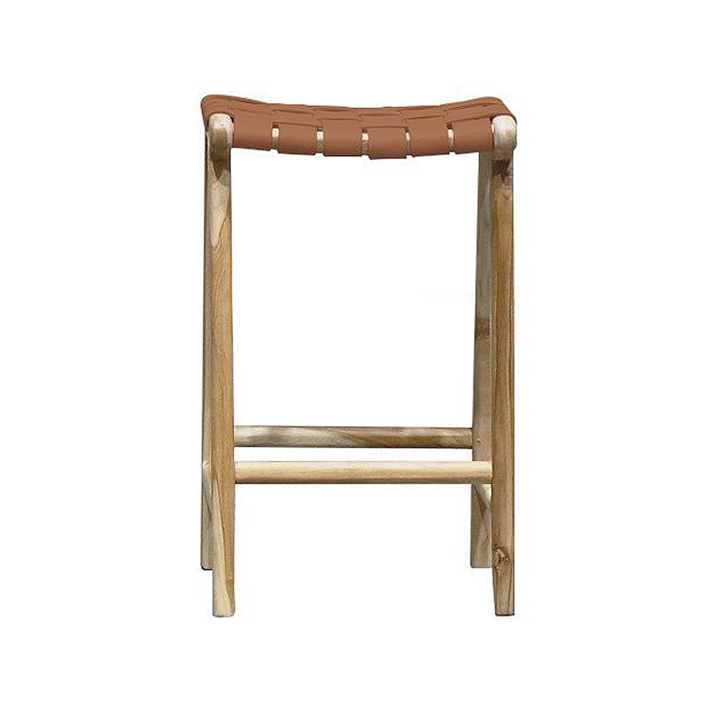 SOUK COLLECTIVE | Hayes Counter Stool Tan