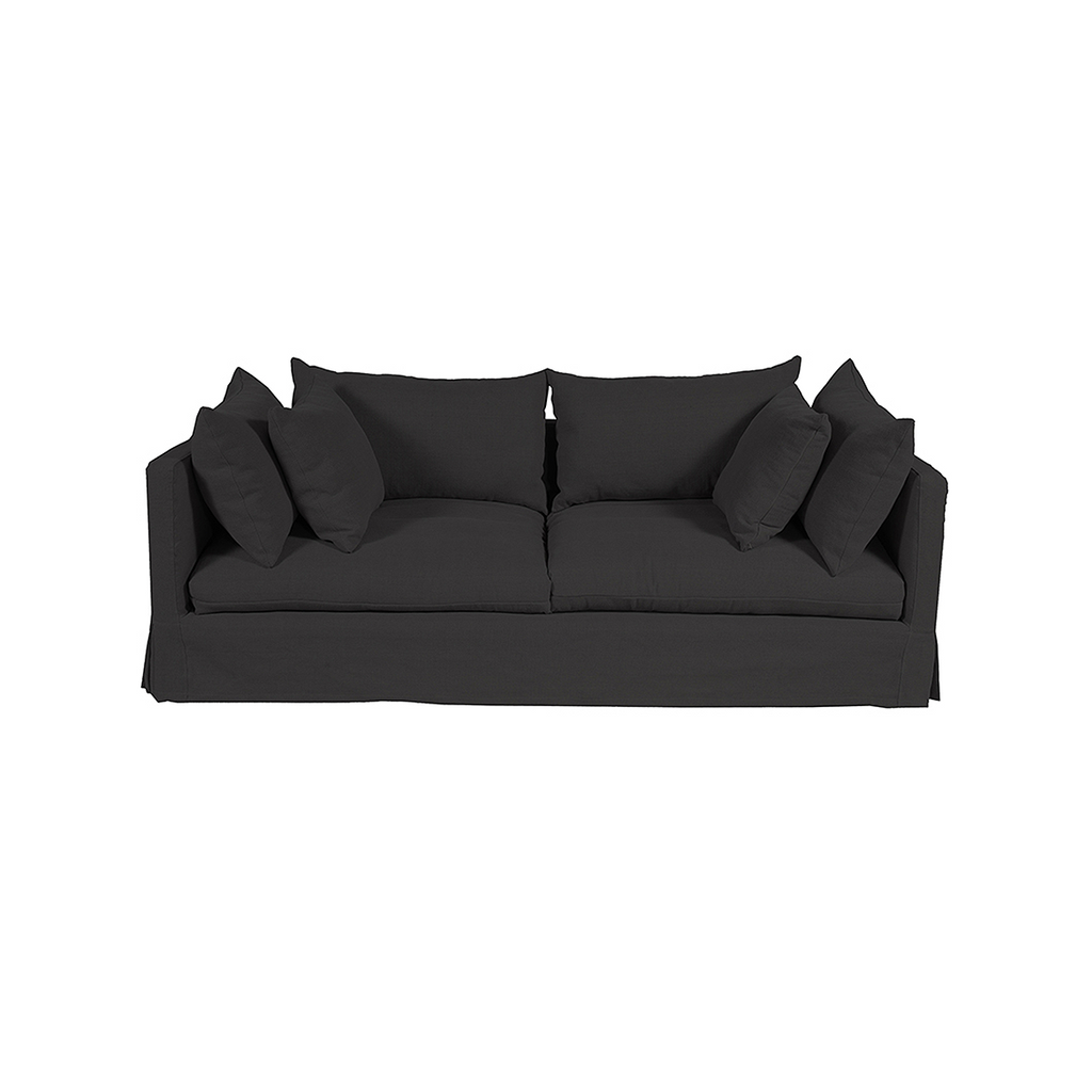 Long Island Sofa Black