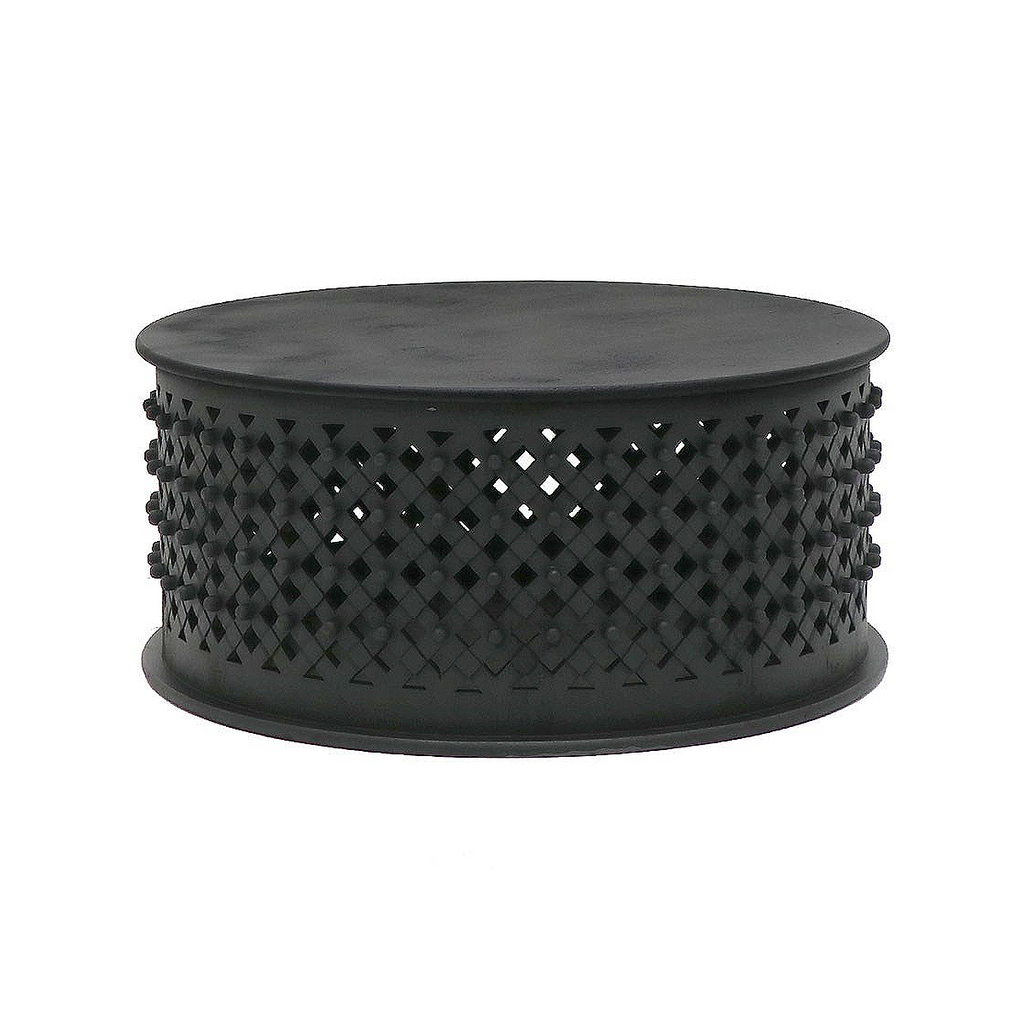 SOUK COLLECTIVE | Bamileke Coffee Table Black