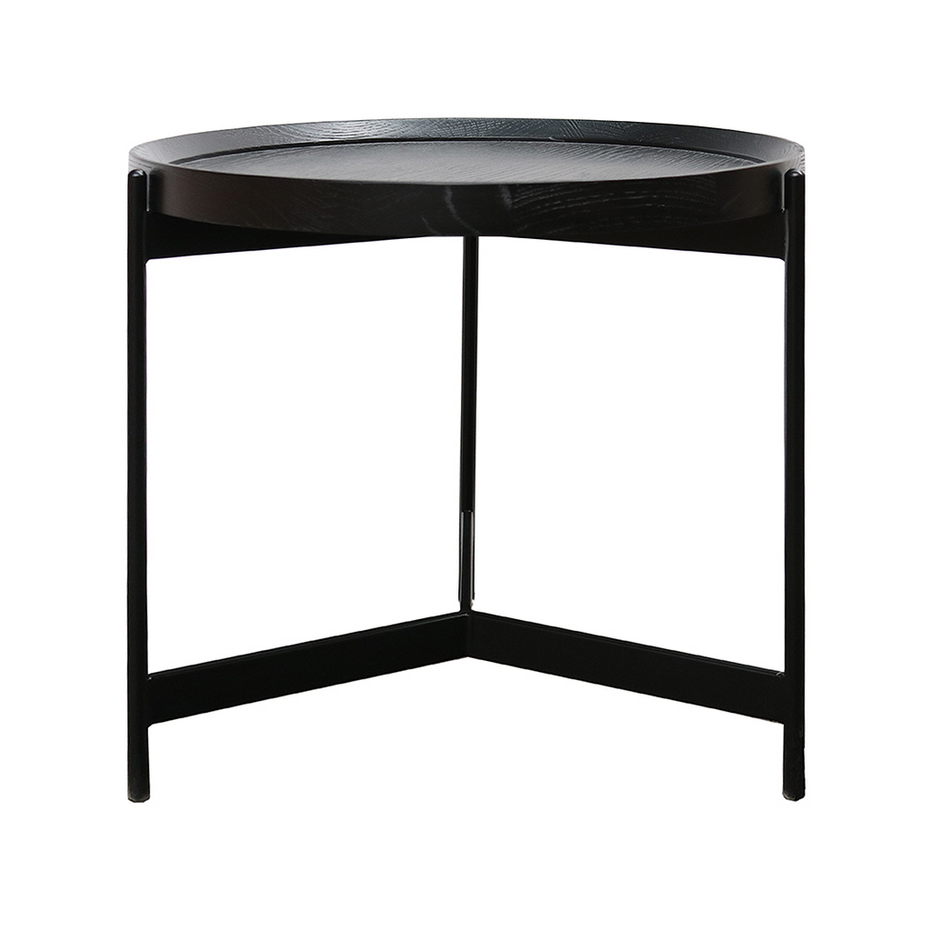 SOUK COLLECTIVE Richmond Side Table Black