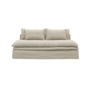 SOUK COLLECTIVE | Willow Slipcover Sofa - Hemp