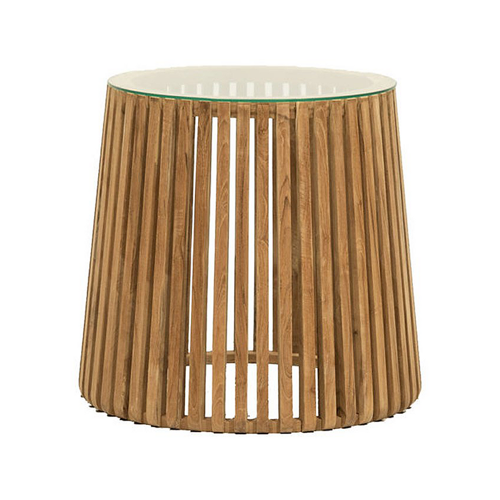 SOUK COLLECTIVE | Crusoe Slatted Side Table