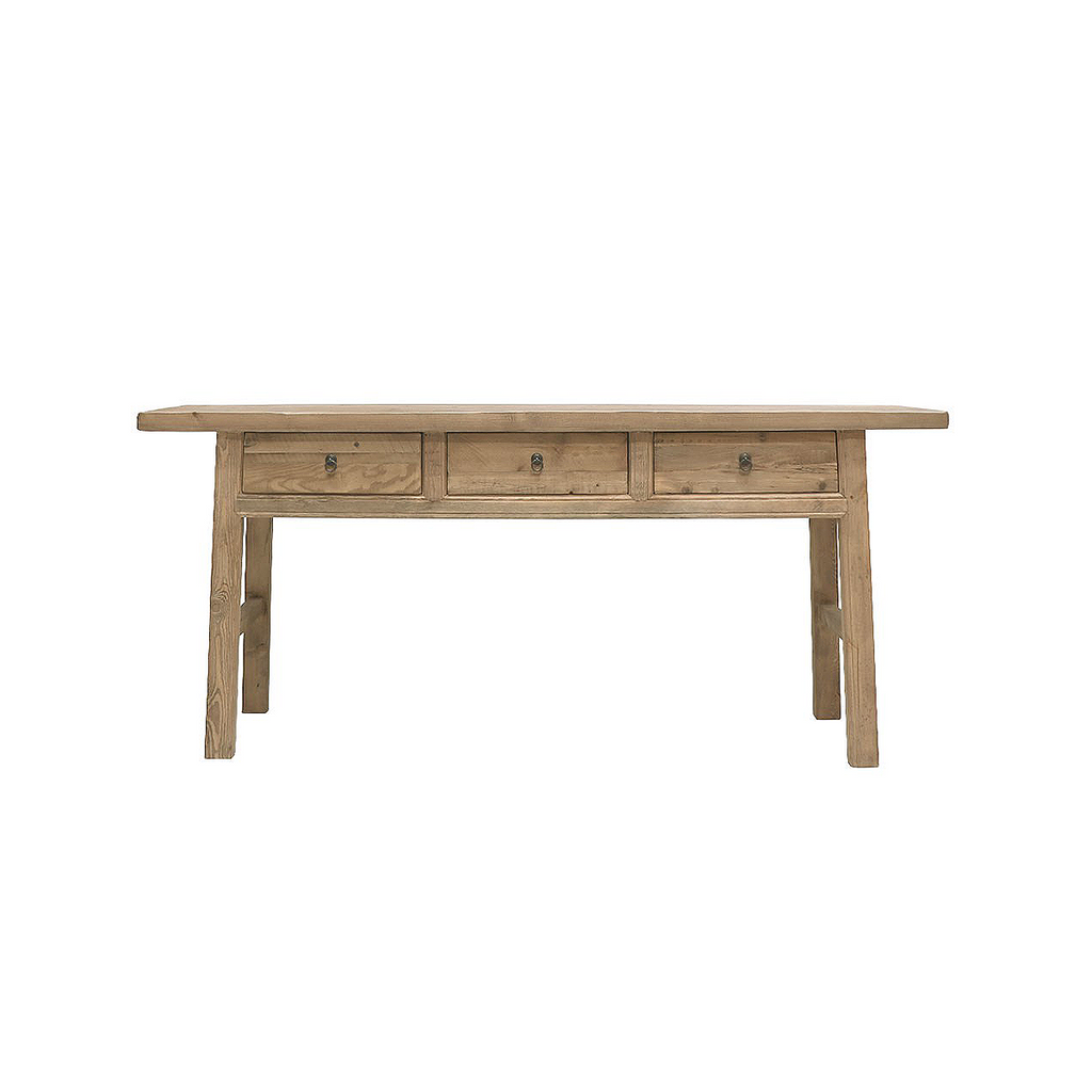 SOUK COLLECTIVE | Parq 3 Drawer Teak Console