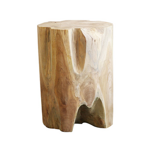 SOUK COLLECTIVE | Teak Root Side Table Round