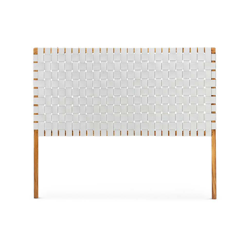 Anya Headboard White - King/Super King