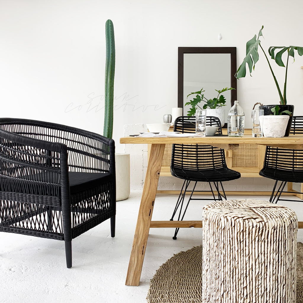 SOUK COLLECTIVE | Black Malawi Chair