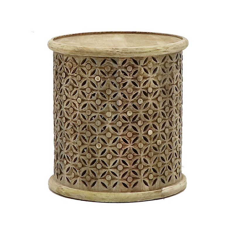 SOUK COLLECTIVE | Bamileke Side Table Natural