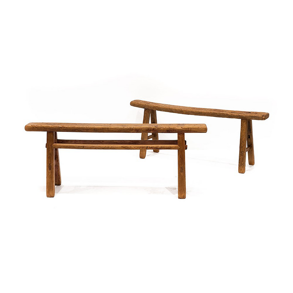 SOUK COLLECTIVE | Original Rustic Wooden Bench