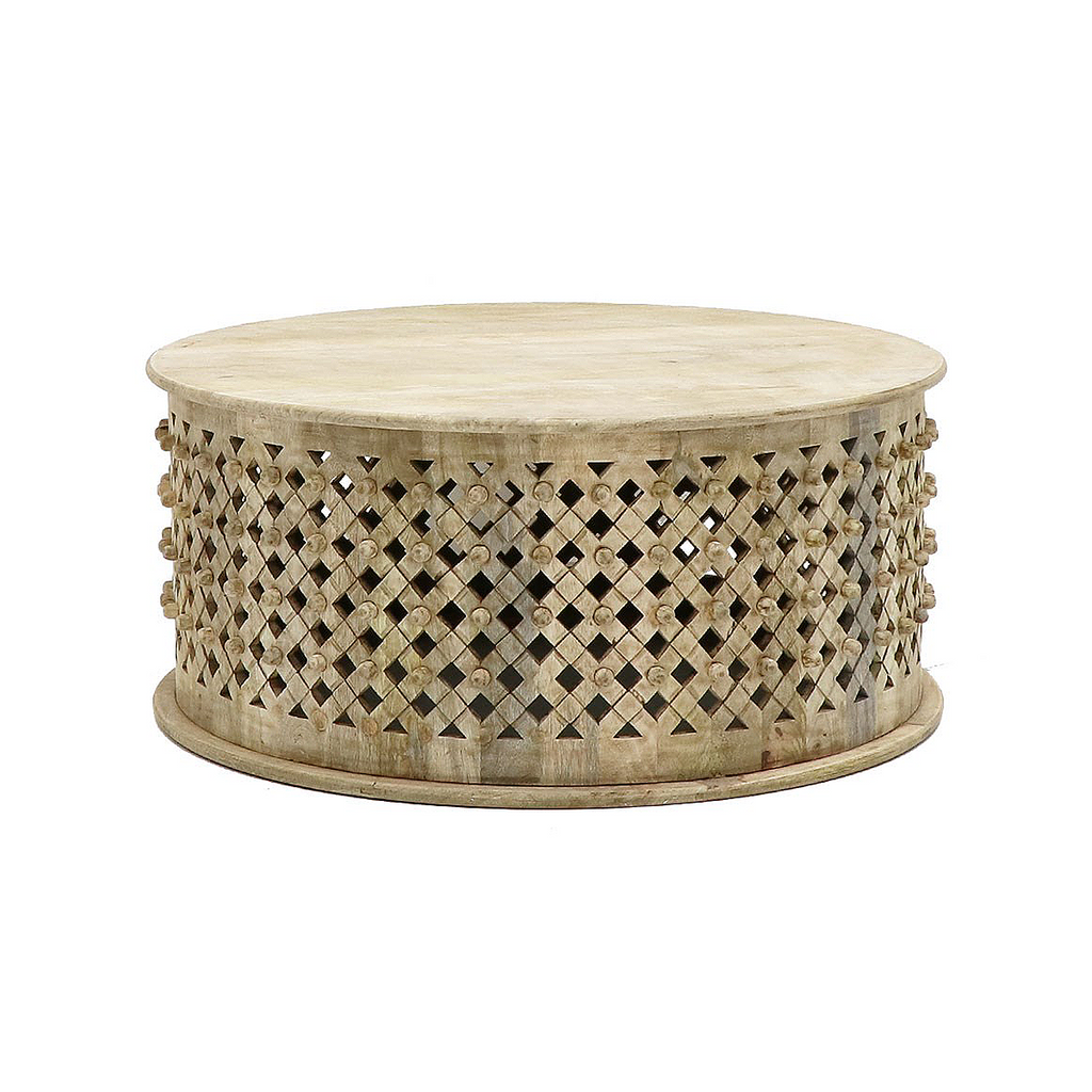 SOUK COLLECTIVE | Bamileke Coffee Table Natural