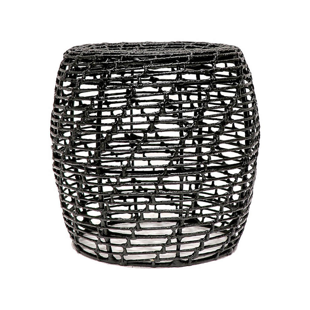 SOUK COLLECTIVE | Abaca Side Table Black