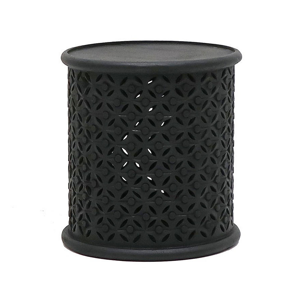 SOUK COLLECTIVE | Bamileke Side Table Black