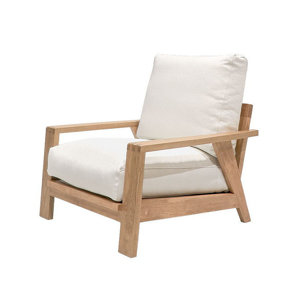 SOUK COLLECTIVE | Cassel Oak Armchair