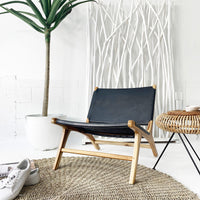 SOUK COLLECTIVE | Hyde Low Chair Black