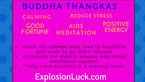 buy Feng Shui Buddhist Thangkas at www.explosionluck.com as a great holiday gift