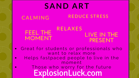 buy flowing sand art at www.explosionluck.com as Christmas gift