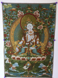 buy Tibetan thangka as safe travel gift for travelers