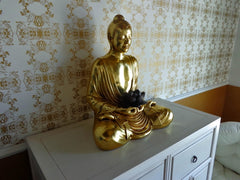 buy Feng Shui buddha paintings and thangkas for financial office at www.explosionluck.com