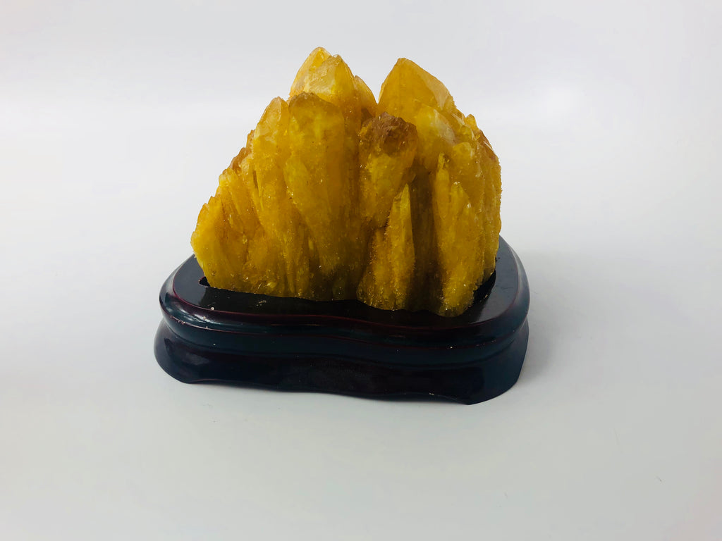 Natural Yellow Quartz Crystal 100
