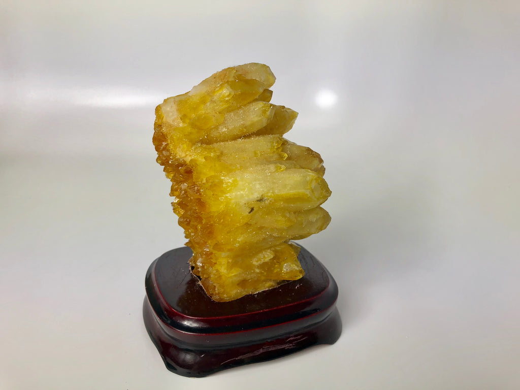 Natural Yellow Quartz Crystal 96