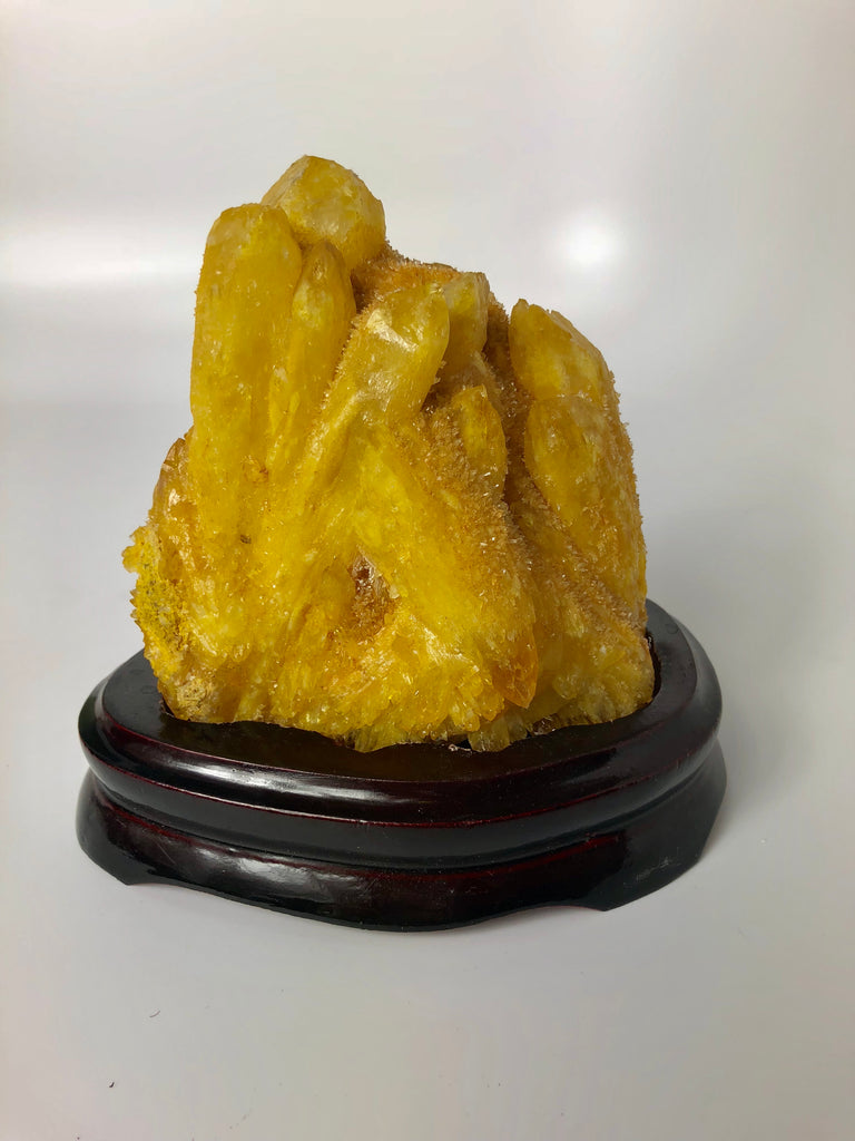 Natural Yellow Quartz Crystal 97
