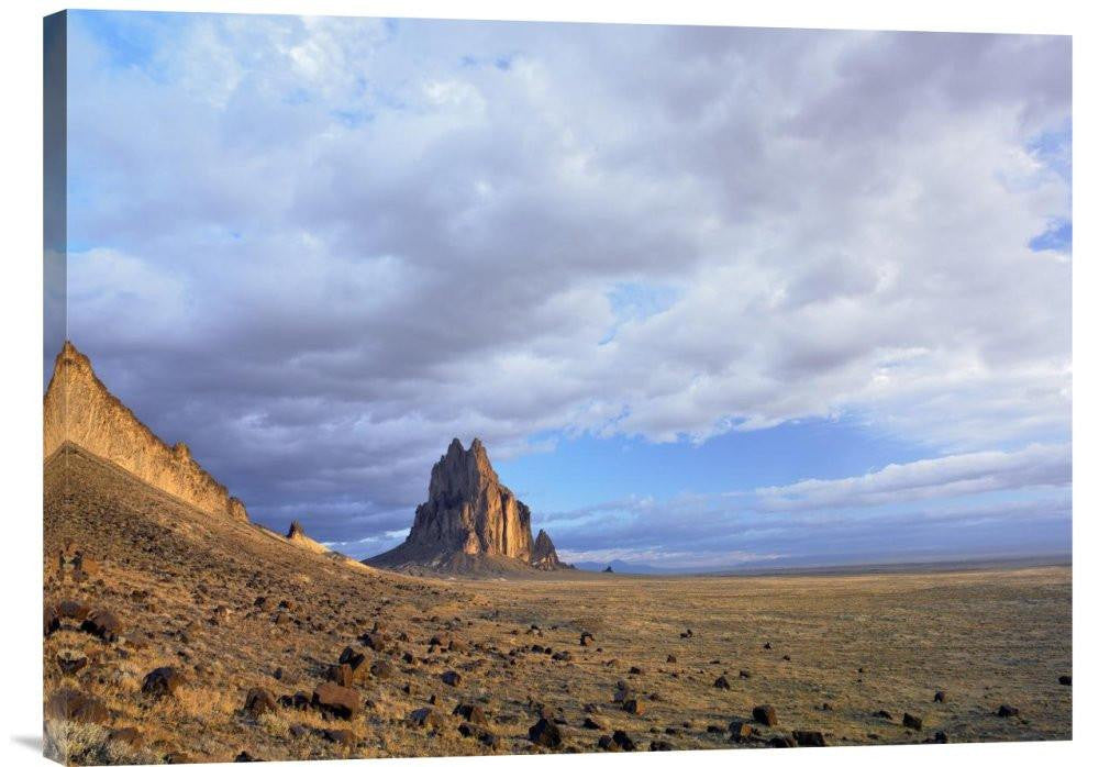 Shiprock, the Basalt Core of an Extinct Volcano