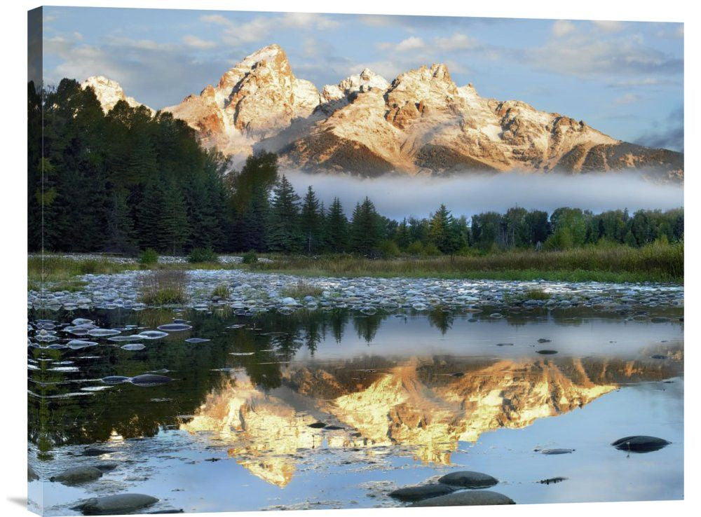 Pond Reflecting Grand Tetons
