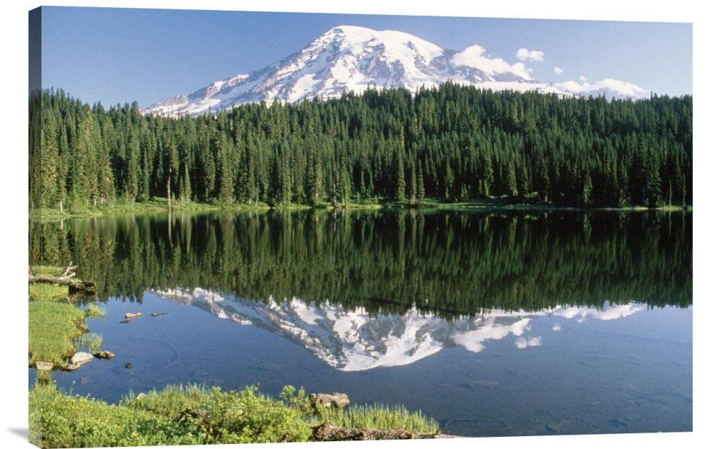 Mt Rainier Reflected in Lake