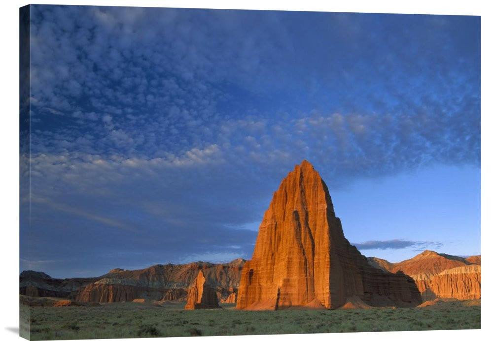 Temples of the Sun and Moon in Cathedral Valley