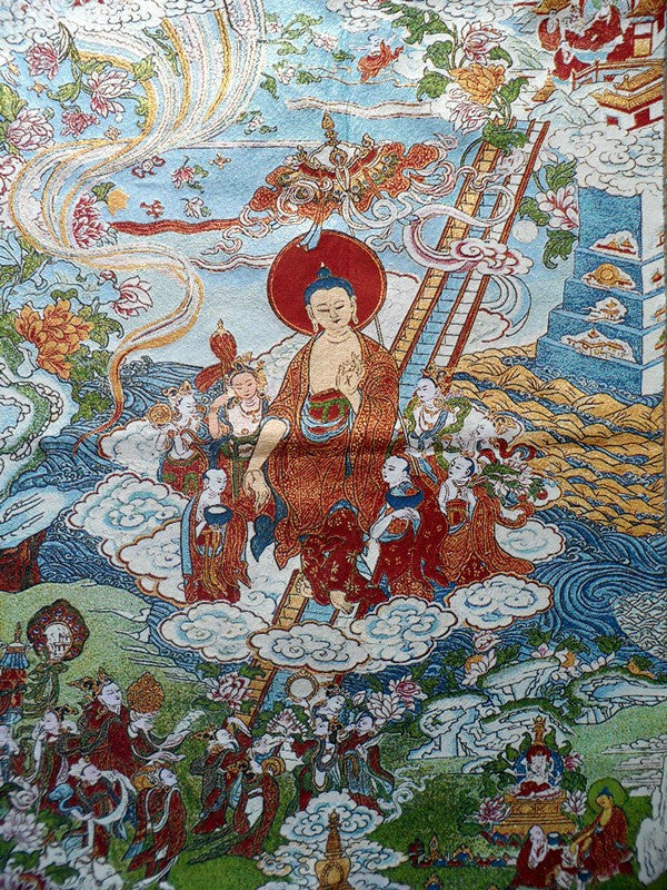 Buddha Shakyamuni Coming Down from Heaven