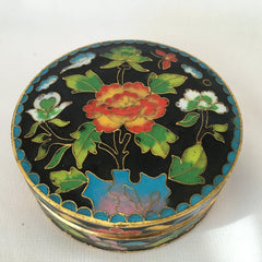 Black Enamel Feng Shui Jewelry Box