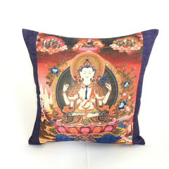 Avalokiteshvara Feng Shui Decorative Pillow
