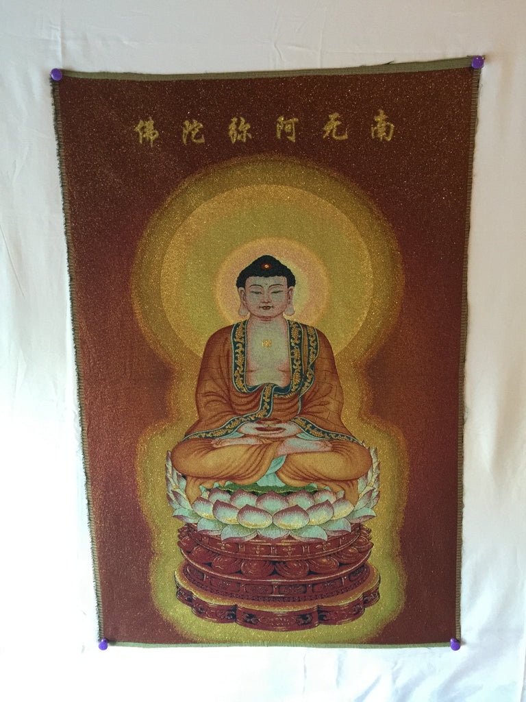 Buddha Shakyamuni Wearing Monk's Clothes