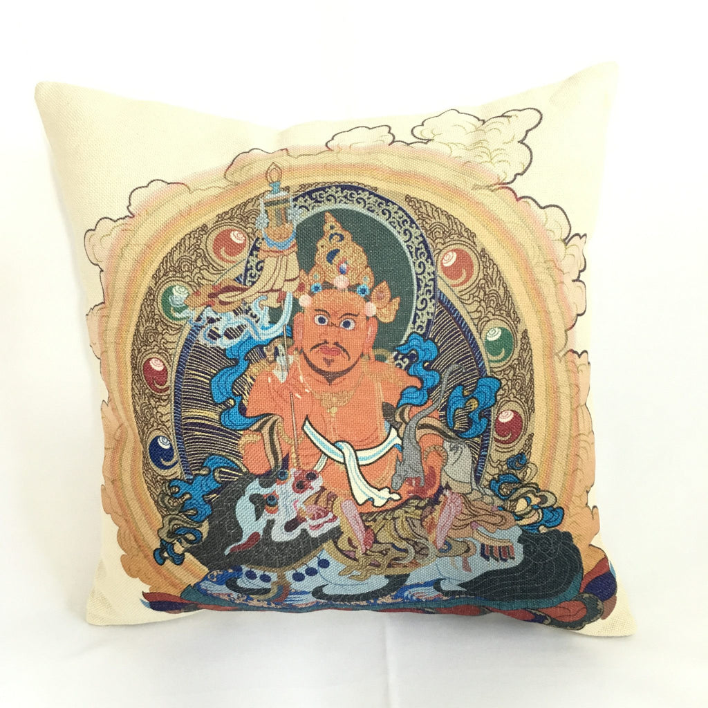 Vaishravana Feng Shui Decorative Pillow