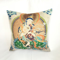 White Tara Feng Shui Decorative Pillow