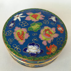 Sky Blue Enamel Feng Shui Jewelry Box