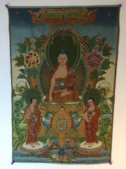 Buddha Shakyamuni with Two Chief Disciples