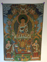 Buddha Shakyamuni with Two Disciples
