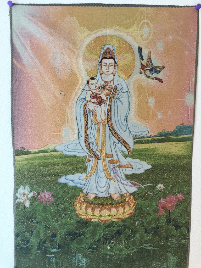 Guanyin Holding a Baby
