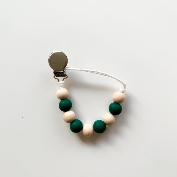 Pebble Clip - Forest Green