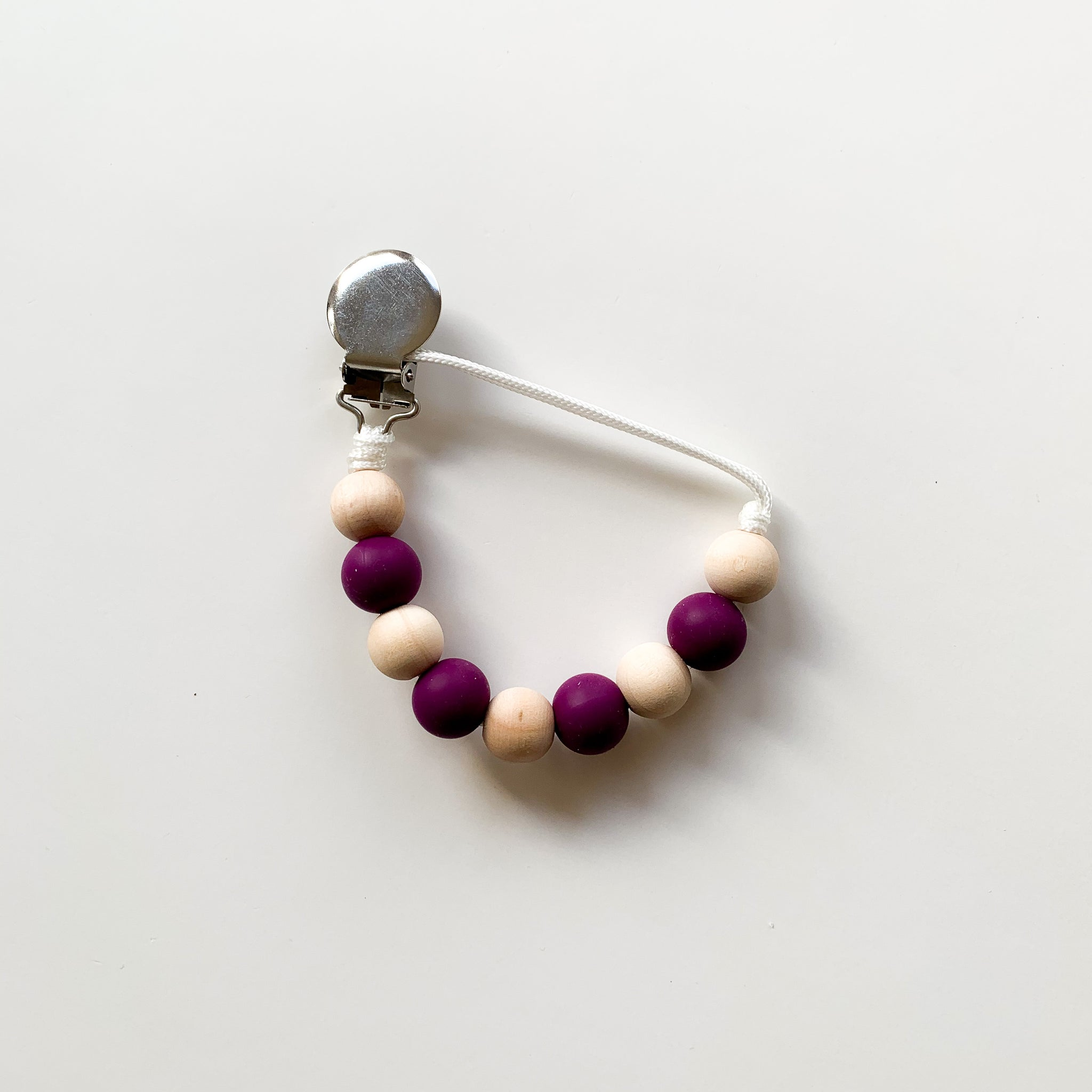 Pebble Clip - Plum
