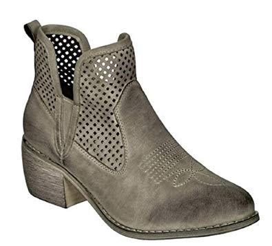 Rimini Faux Leather Bootie