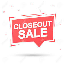 Winter Close Out Sale!