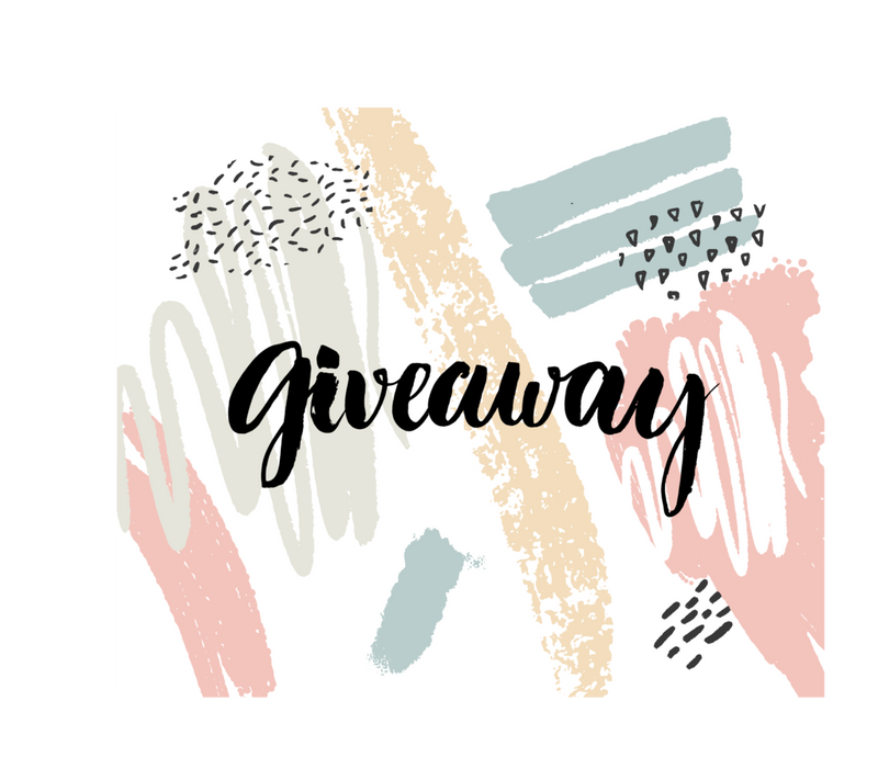 Giveaway! Ends September 26th!