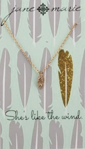 "16"" Gold Necklace with 3"" Ext by Jane Marie"