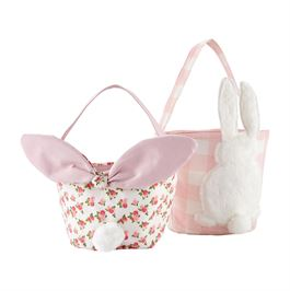 Gingham Rose Easter Baskets