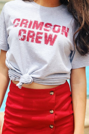 Crimson Crew Game Day Tee