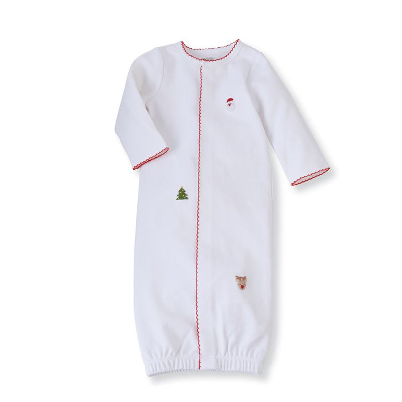 French Knot Christmas Sleep Gown