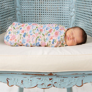 Secret Garden Muslin Swaddle Blanket